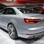 India-bound 2016 Audi A4 rear three quarter at the IAA 2015