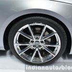 India-bound 2016 Audi A4 rims at the IAA 2015