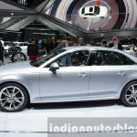 India-bound 2016 Audi A4 side at the IAA 2015