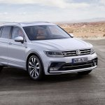 India-bound 2016 VW Tiguan R-Line front three quarter unveiled ahead of debut