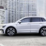 India-bound 2016 VW Tiguan R-Line side unveiled ahead of debut