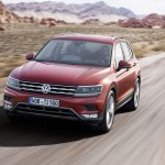 India-bound 2016 VW Tiguan front quarter unveiled ahead of debut