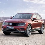 India-bound 2016 VW Tiguan front three quarter unveiled ahead of debut