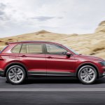 India-bound 2016 VW Tiguan side unveiled ahead of debut