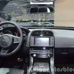 India-bound Jaguar XE dashboard at the IAA 2015