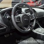 India-bound Jaguar XE interior at the IAA 2015