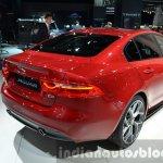 India-bound Jaguar XE rear three quarter at the IAA 2015