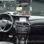 Infiniti Q30 City Black Edition dashboard at IAA 2015