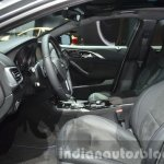 Infiniti Q30 City Black Edition front seats at IAA 2015
