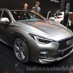 Infiniti Q30 City Black Edition front three quarter at IAA 2015