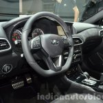 Infiniti Q30 City Black Edition interior at IAA 2015