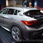 Infiniti Q30 City Black Edition rear three quarter at IAA 2015
