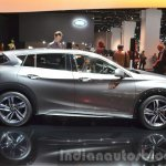 Infiniti Q30 City Black Edition side at IAA 2015