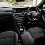 Infiniti Q30 black interior cabin official image
