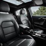 Infiniti Q30 black interior official image