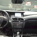 Infiniti Q30 dashboard at IAA 2015