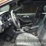 Infiniti Q30 front seats at IAA 2015