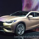 Infiniti Q30 front three quarter at IAA 2015