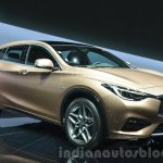Infiniti Q30 front three quarter right at IAA 2015