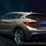 Infiniti Q30 rear three quarter left at IAA 2015