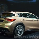 Infiniti Q30 rear three quarter right at IAA 2015