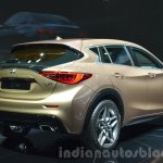 Infiniti Q30 rear three quarters angle at IAA 2015