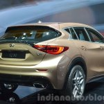 Infiniti Q30 taillamp and window at IAA 2015