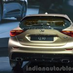 Infiniti Q30 taillamp, bumper and windshield at IAA 2015