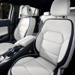 Infiniti Q30 white interior official image