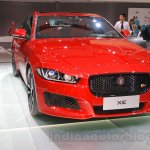 Jaguar XE S front angle at the 2015 Chengdu Motor Show