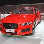 Jaguar XE S front at the 2015 Chengdu Motor Show