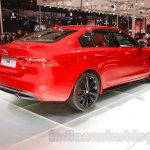 Jaguar XE S rear quarters at the 2015 Chengdu Motor Show