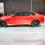 Jaguar XE S side at the 2015 Chengdu Motor Show
