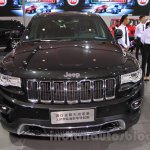 Jeep Grand Cherokee John Yiu limited-edition front at the 2015 Chengdu Motor Show