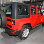 Jeep Wrangler Unlimited Sahara edition at the 2015 Chengdu Motor Show