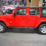 Jeep Wrangler Unlimited Sahara edition side at the 2015 Chengdu Motor Show