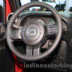 Jeep Wrangler Unlimited Sahara edition steering at the 2015 Chengdu Motor Show