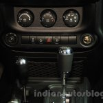 Jeep Wrangler Unlimited Sahara edition switchgear at the 2015 Chengdu Motor Show