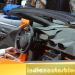 Lamborghini Huracan Spyder interior LP610-4 at the IAA 2015