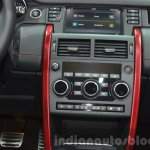Land Rover Discovery Sport HSE Dynamic Lux center console at IAA 2015