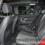 Land Rover Discovery Sport HSE Dynamic Lux rear seat at IAA 2015