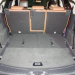 Land Rover Discovery Sport boot volume with third row down Launch in Mumbai