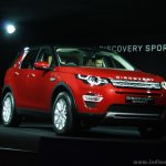 Land Rover Discovery Sport front quarter launched in India