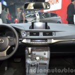 Lexus CT200h Sport Editions dashboard at the IAA 2015