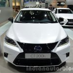 Lexus CT200h Sport Editions front at the IAA 2015