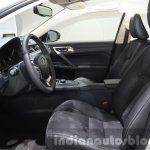Lexus CT200h Sport Editions front cabin at the IAA 2015