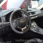 Lexus CT200h Sport Editions interior at the IAA 2015