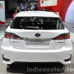 Lexus CT200h Sport Editions rear at the IAA 2015