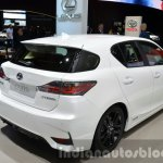 Lexus CT200h Sport Editions rear three quarter at the IAA 2015