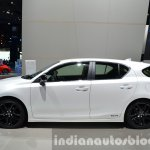 Lexus CT200h Sport Editions side at the IAA 2015